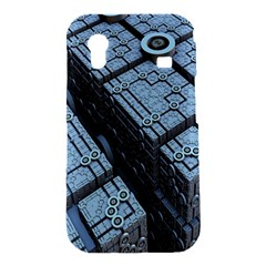 Grid Maths Geometry Design Pattern Samsung Galaxy Ace S5830 Hardshell Case