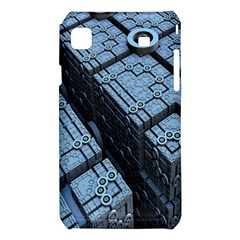 Grid Maths Geometry Design Pattern Samsung Galaxy S i9008 Hardshell Case