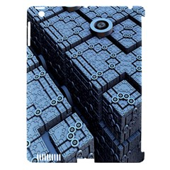 Grid Maths Geometry Design Pattern Apple iPad 3/4 Hardshell Case (Compatible with Smart Cover)