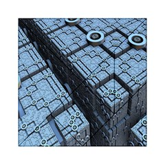 Grid Maths Geometry Design Pattern Acrylic Tangram Puzzle (6  x 6 )