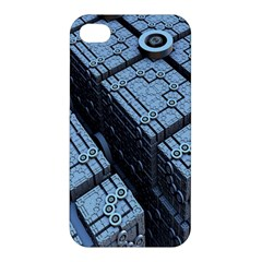 Grid Maths Geometry Design Pattern Apple iPhone 4/4S Premium Hardshell Case