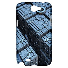 Grid Maths Geometry Design Pattern Samsung Galaxy Note 2 Hardshell Case