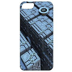 Grid Maths Geometry Design Pattern Apple iPhone 5 Classic Hardshell Case