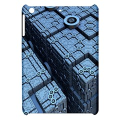 Grid Maths Geometry Design Pattern Apple iPad Mini Hardshell Case