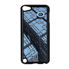 Grid Maths Geometry Design Pattern Apple iPod Touch 5 Case (Black)