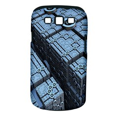 Grid Maths Geometry Design Pattern Samsung Galaxy S III Classic Hardshell Case (PC+Silicone)