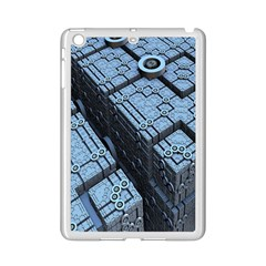 Grid Maths Geometry Design Pattern iPad Mini 2 Enamel Coated Cases