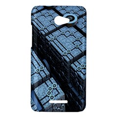 Grid Maths Geometry Design Pattern HTC Butterfly X920E Hardshell Case