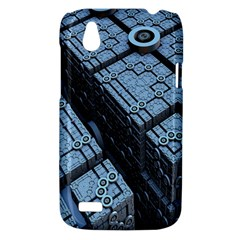 Grid Maths Geometry Design Pattern HTC Desire V (T328W) Hardshell Case