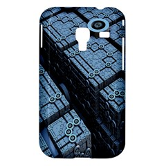 Grid Maths Geometry Design Pattern Samsung Galaxy Ace Plus S7500 Hardshell Case