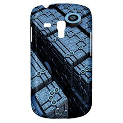 Grid Maths Geometry Design Pattern Samsung Galaxy S3 MINI I8190 Hardshell Case