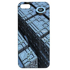 Grid Maths Geometry Design Pattern Apple iPhone 5 Hardshell Case with Stand