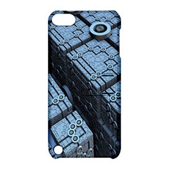 Grid Maths Geometry Design Pattern Apple iPod Touch 5 Hardshell Case with Stand