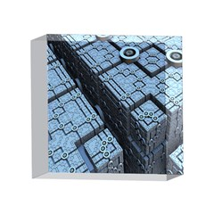 Grid Maths Geometry Design Pattern 4 x 4  Acrylic Photo Blocks