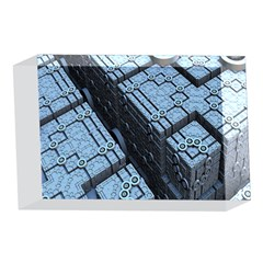 Grid Maths Geometry Design Pattern 4 x 6  Acrylic Photo Blocks