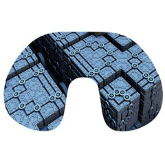 Grid Maths Geometry Design Pattern Travel Neck Pillows