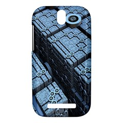 Grid Maths Geometry Design Pattern HTC One SV Hardshell Case