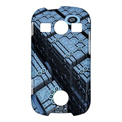 Grid Maths Geometry Design Pattern Samsung Galaxy S7710 Xcover 2 Hardshell Case
