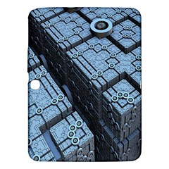 Grid Maths Geometry Design Pattern Samsung Galaxy Tab 3 (10.1 ) P5200 Hardshell Case