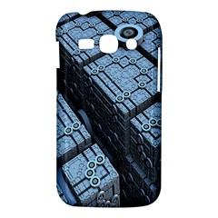 Grid Maths Geometry Design Pattern Samsung Galaxy Ace 3 S7272 Hardshell Case