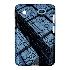 Grid Maths Geometry Design Pattern Samsung Galaxy Tab 2 (7 ) P3100 Hardshell Case