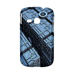Grid Maths Geometry Design Pattern Samsung Galaxy S6310 Hardshell Case