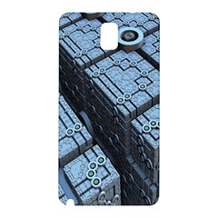 Grid Maths Geometry Design Pattern Samsung Galaxy Note 3 N9005 Hardshell Back Case