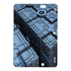 Grid Maths Geometry Design Pattern Kindle Fire HDX 8.9  Hardshell Case