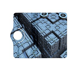 Grid Maths Geometry Design Pattern Kindle Fire HDX 8.9  Flip 360 Case