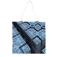 Grid Maths Geometry Design Pattern Grocery Light Tote Bag