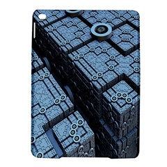 Grid Maths Geometry Design Pattern iPad Air 2 Hardshell Cases