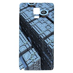 Grid Maths Geometry Design Pattern Galaxy Note 4 Back Case