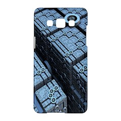 Grid Maths Geometry Design Pattern Samsung Galaxy A5 Hardshell Case