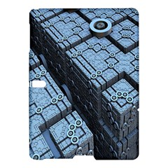 Grid Maths Geometry Design Pattern Samsung Galaxy Tab S (10.5 ) Hardshell Case