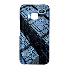 Grid Maths Geometry Design Pattern HTC One M9 Hardshell Case