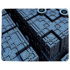 Grid Maths Geometry Design Pattern Jigsaw Puzzle Photo Stand (Rectangular)