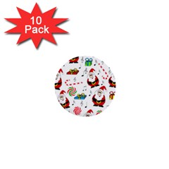 Xmas song 1  Mini Buttons (10 pack)