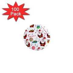 Xmas song 1  Mini Magnets (100 pack)