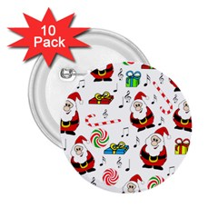 Xmas song 2.25  Buttons (10 pack)