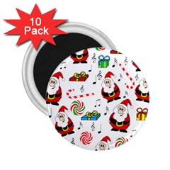 Xmas song 2.25  Magnets (10 pack)