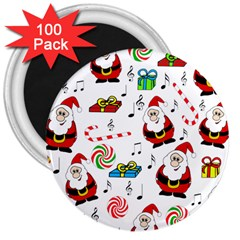 Xmas song 3  Magnets (100 pack)