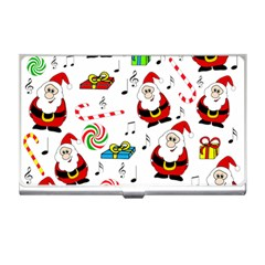 Xmas song Business Card Holders