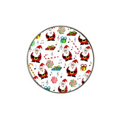 Xmas song Hat Clip Ball Marker (4 pack)