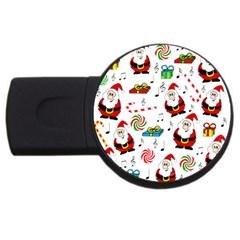 Xmas song USB Flash Drive Round (4 GB)