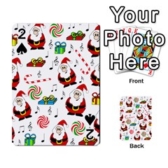 Xmas song Playing Cards 54 Designs