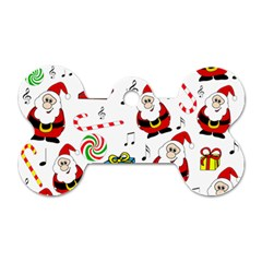 Xmas song Dog Tag Bone (One Side)
