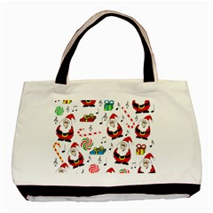 Xmas song Basic Tote Bag (Two Sides)