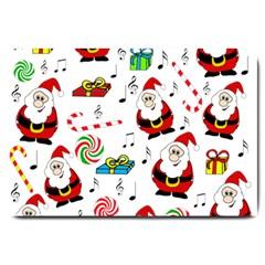 Xmas song Large Doormat