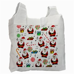 Xmas song Recycle Bag (Two Side)