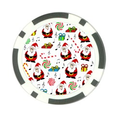 Xmas song Poker Chip Card Guards (10 pack)